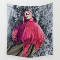scary Wall Tapestries featuring Scary! by IowaShots