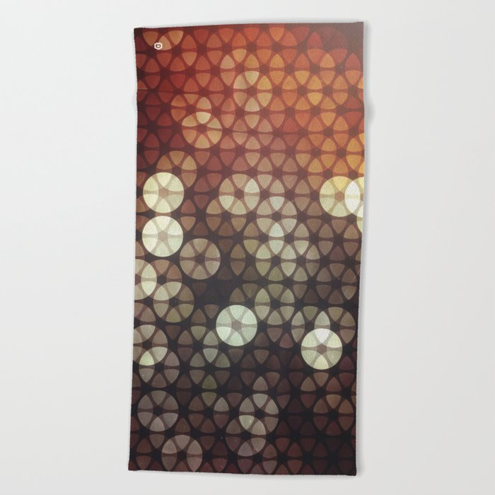 bykyh tyssyllyte Beach Towel