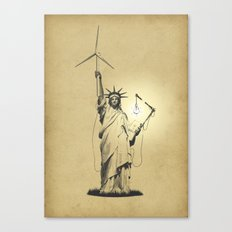 And then there was light Canvas Print
