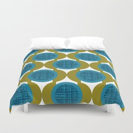 Rosenthal Green Duvet Cover