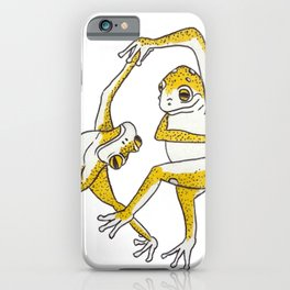 The Dancing Frogs iPhone Case