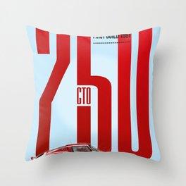 250GTO Tribute Throw Pillow