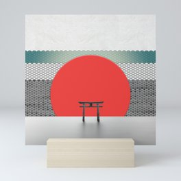 The Red Sun Mini Art Print