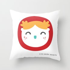 NIÑA Throw Pillow