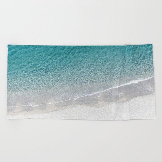 Drone Beach Beach Towel