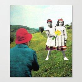 walk together Canvas Print