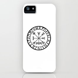 Norse - Vegvisir iPhone Case