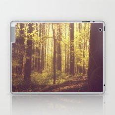 She Experienced Heaven on Earth Among the Trees Laptop & iPad Skin