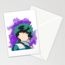 My Hero Academia Minimalist (Midoriya/Deku) Stationery Cards