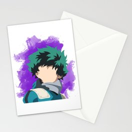 My Hero Academia Minimalist (Midoriya/Deku) Stationery Cards