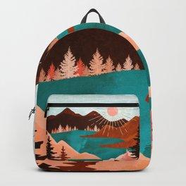 Retro Lake Backpack