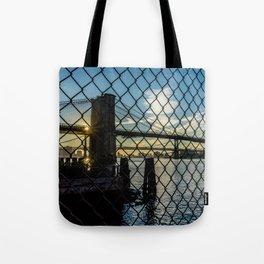 Brooklyn Bridge (Gated) Tote Bag