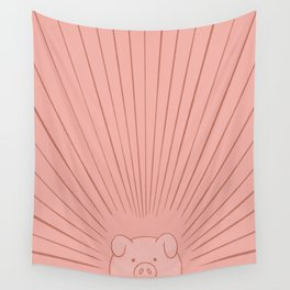 Good Morning Son - Piggy Wall Tapestry