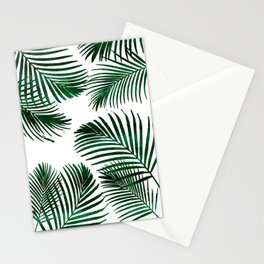 Tropical Palm Leaf Stationery Cards