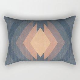 343 - Retro Diamonds Rectangular Pillow