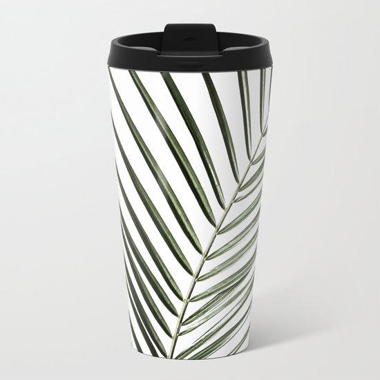 Palm Leaves 8 Metal Travel Mug