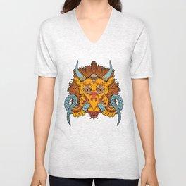 Garuda Unisex V-Neck