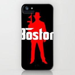 Boston mafia iPhone Case