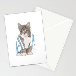 Chicago Cat Artwork & Home Decor Stationery Cards