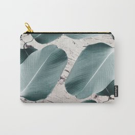 House Plants on Marble Carry-All Pouch