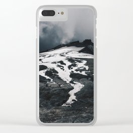 Expanse of Mount Ruapehu Clear iPhone Case