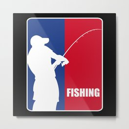 Fishing Sport Fisherman Gift Metal Print