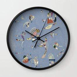 Bleu en ciel - V. Kandinsky Wall Clock