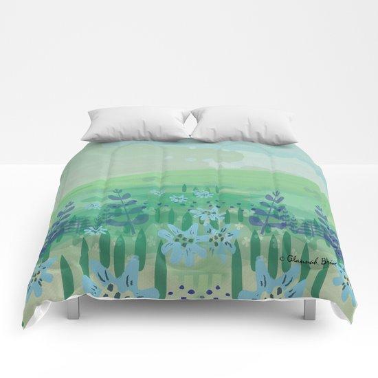 Wild Flowers. Comforters