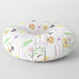 Rapuzel's Favorite things Floor Pillow