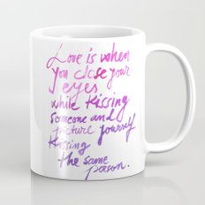 Love quotes Mug