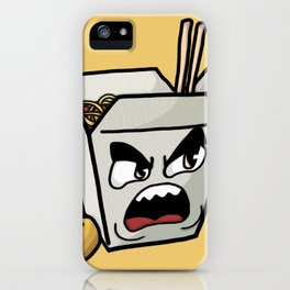 Chow Mein iPhone Case