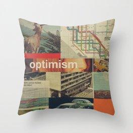 Optimism178 Throw Pillow