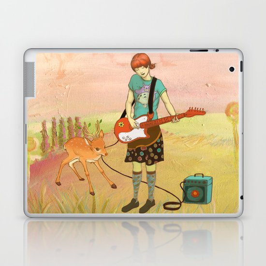 Guitar Fawn Laptop & iPad Skin