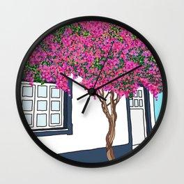 A Little Portuguese House Wall Clock