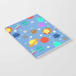 planets and stars Notebook