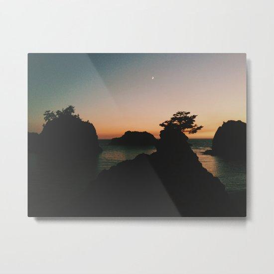 Southern Oregon Coast Sunset Metal Print