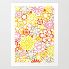 BOLD & BEAUTIFUL sunshine Art Print