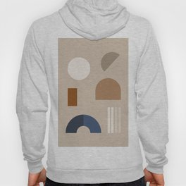 Minimal Geometric Shapes 73 Hoody