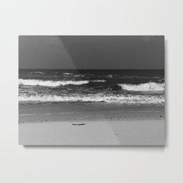 Dark, Friendly Waves Metal Print