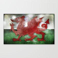 Wales - Cymru Canvas Print