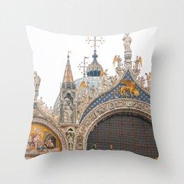 St Mark Throw Pillow