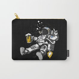 Astronaut Drinking Beer Space Party Carry-All Pouch