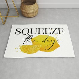 Squeeze the Day Lemon Rug