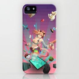Geek play iPhone Case