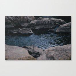 Dark Pools Canvas Print