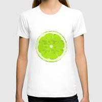 lime T-shirts featuring Lime by Avigur