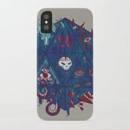 Die of Death iPhone Case