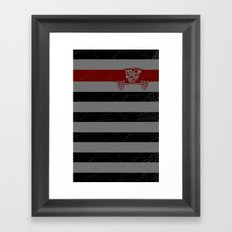 sneak  Framed Art Print