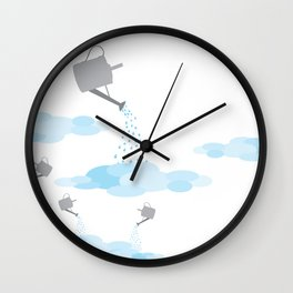 making couds Wall Clock