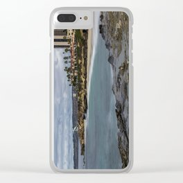 Casa and Wipeout Beaches, La Jolla, California Clear iPhone Case